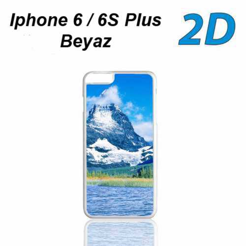 2D Sublimasyon Iphone 6/6S Plus Kapak (beyaz)