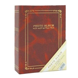 Bordo 100 lük 10x15 cm Fotoğraf Albümü