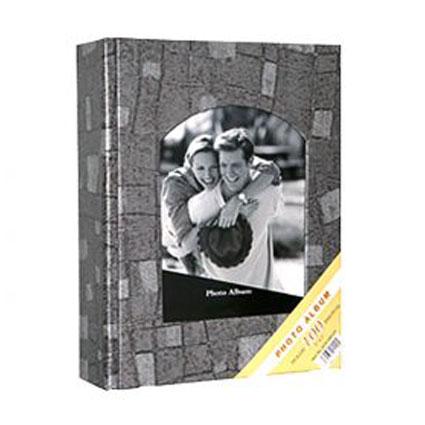 Gri 100 lük 15x21cm Fotoğraf Albümü