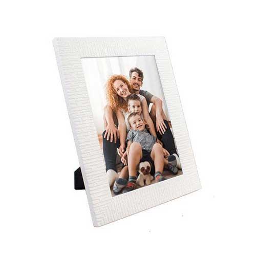Camlı Plastik Beyaz Çerçeve 15x21 cm