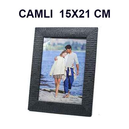 Camlı Plastik Siyah Çerçeve 15X21 cm