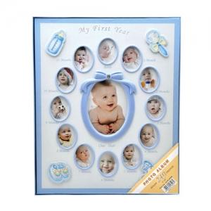 Mavi 240 lık 10x15 cm Bebek Fotoğraf Albümü