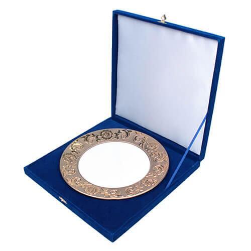 25 cm Tabak Kutusu (Mavi)