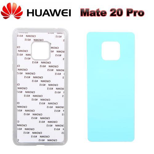 2D Sublimasyon Silikon Huawei Mate 20 Pro Kapak