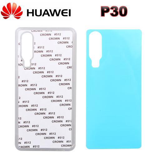2D Sublimasyon Silikon Huawei P30 Kapak