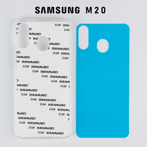 2D Sublimasyon Silikon Samsung M Serisi Kapaklar