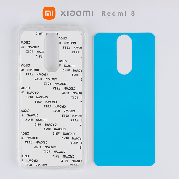 2D Sublimasyon Silikon Xiaomi Redmi 8 Kapak