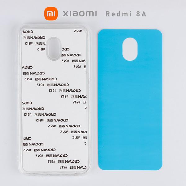 2D Sublimasyon Silikon Xiaomi Redmi 8A Kapak