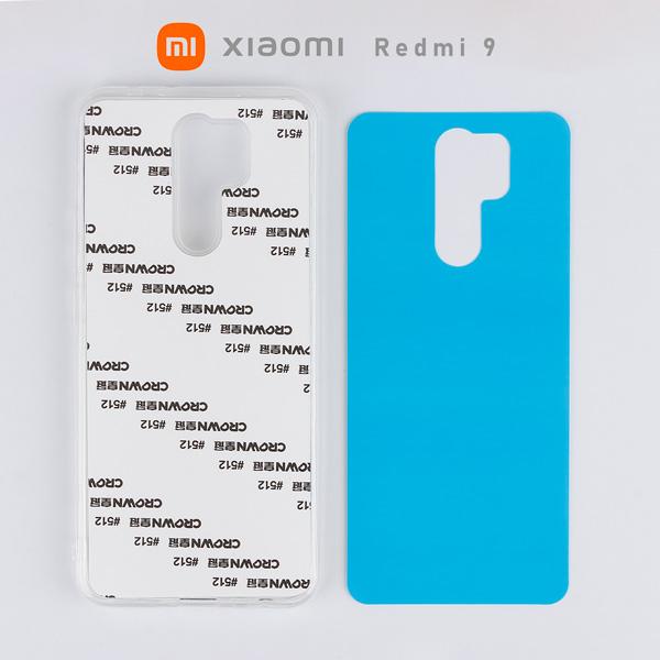 2D Sublimasyon Silikon Xiaomi Redmi 9 Kapak