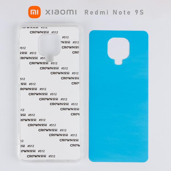 2D Sublimasyon Silikon Xiaomi Redmi Note 9S Kapak