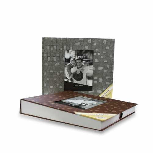 Gri 600 lük 10x15cm Fotoğraf Albümü