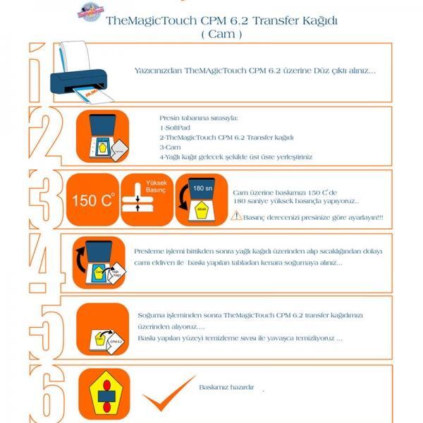 A4 Magictouch CPM 6.2 Lazer Sert Zemin Kağıdı