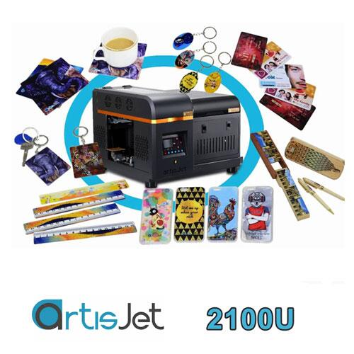 artisJet 2100U A4 Masaüstü UV Baskı Makinesi