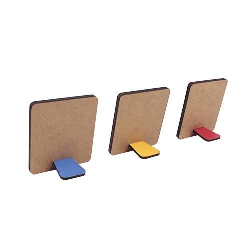 Ayaklı Polaroid İnstax Sarı Çerçeve