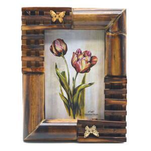 Bambu Fotoğraf Çerçevesi 10x15 cm