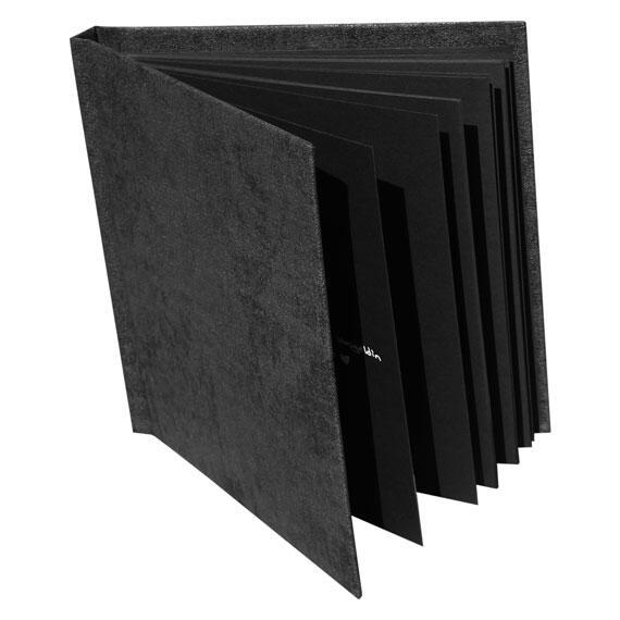 Beyaz Kalemli Anı Defteri - Siyah