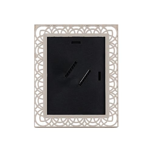 Camlı Plastik Gri Çerçeve 15X21 cm