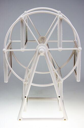 Demonte Plastik Dönme Dolap Çerçeve - Beyaz