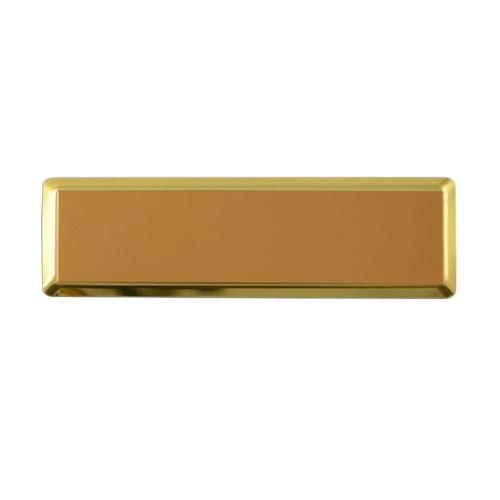 Dikdörtgen Metal Yaka İsimliği (altın)
