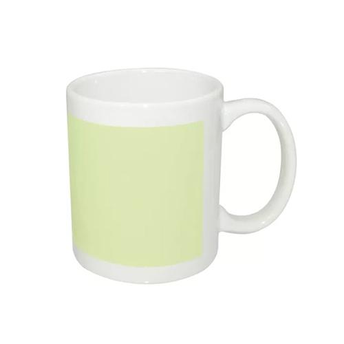 Fosforlu Porselen Beyaz Kupa