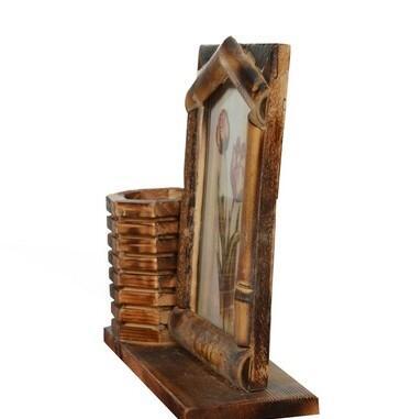 Kalemlik Ev Bambu Çerçeve
