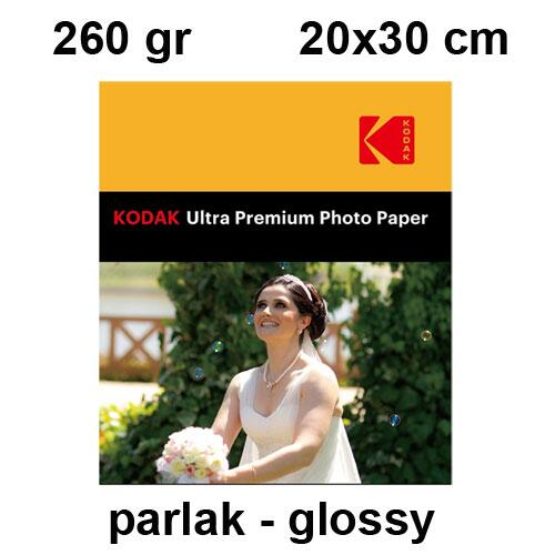 Kodak A4 Parlak (Glossy) Fotoğraf Kağıdı 260 gr
