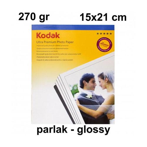 Kodak 15x21 Parlak (Glossy) Fotoğraf Kağıdı 270 gr