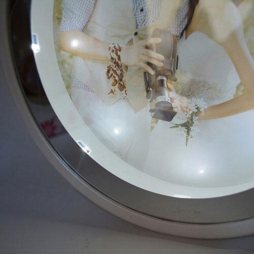 Sihirli Led Ayna Çerçeve-Saatli