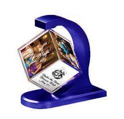 Magnetik Küp Çerçeve - mavi