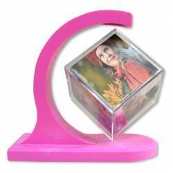 Magnetik Küp Çerçeve - pembe