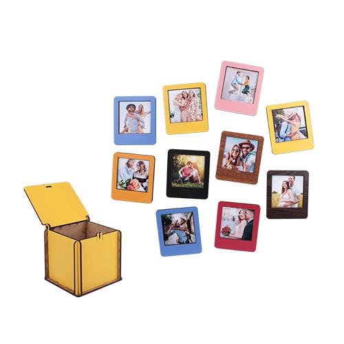 Mıknatıslı Polaroid İnstax Sarı Çerçeve