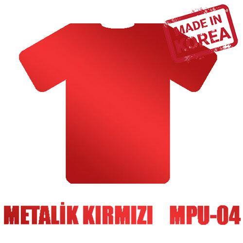 Metalik Kırmızı Flex / 51 cm x 2 m=1 m2