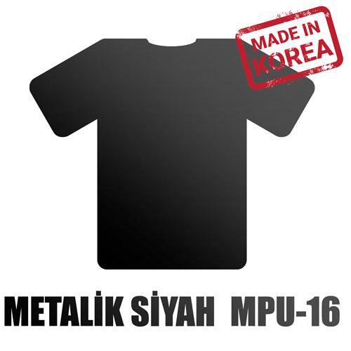 Metalik Siyah Flex / 51 cm x 2 m=1 m2