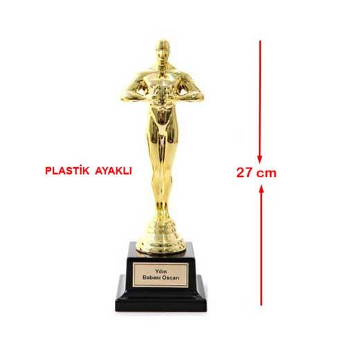 Sublimasyon Oscar Heykeli-Plastik Ayaklı