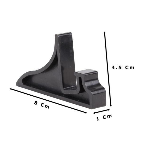 Plastik Enjeksiyon Siyah Teşhir Ayağı