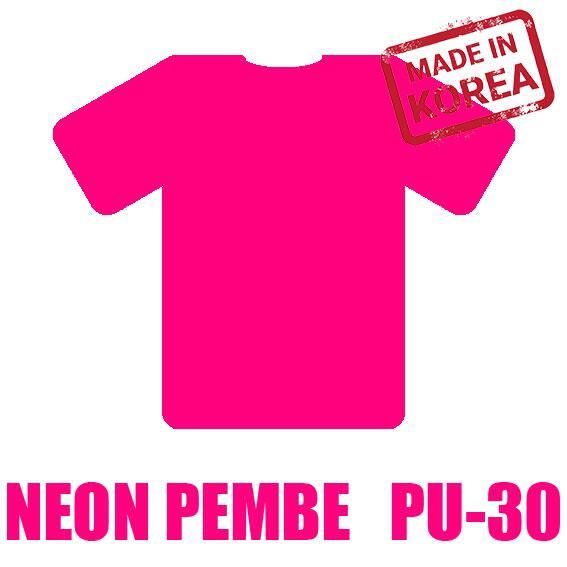 Neon Pembe Flex / 51 cm x 2 m=1 m2