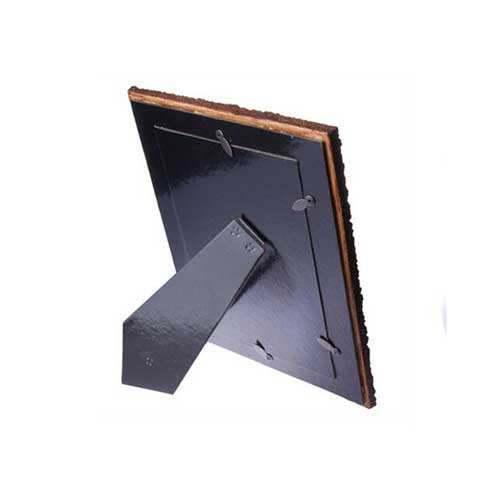 Siyah Dalgalı Taş Fotoğraf Çerçevesi 15x21 cm