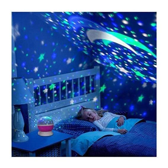 Star Master Gökyüzü Dönen Projeksiyon Lambası
