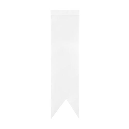 Sublimasyon Beyaz T Tipi Kırlangıç Masa Bayrağı