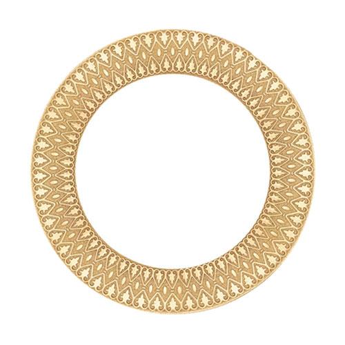 Sublimasyon Özel Tabak 24 cm (altın )