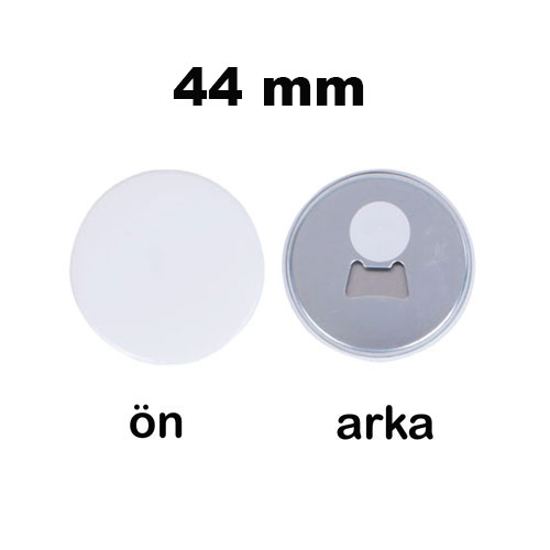 Uv Baskı İçin 44 mm Magnet Açacak