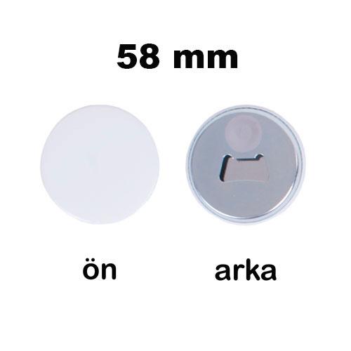 Uv Baskı İçin 58 mm Magnet Açacak