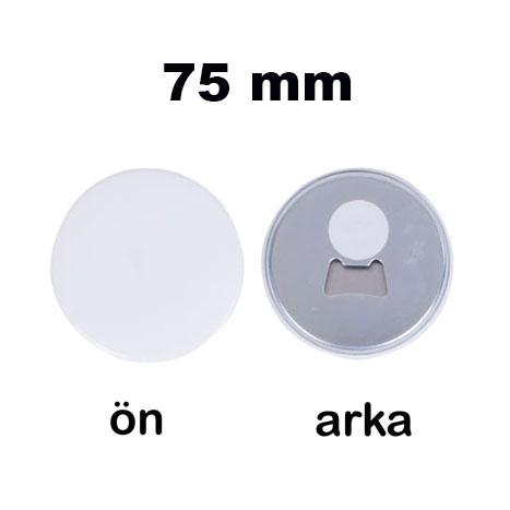Uv Baskı İçin 75 mm Magnet Açacak